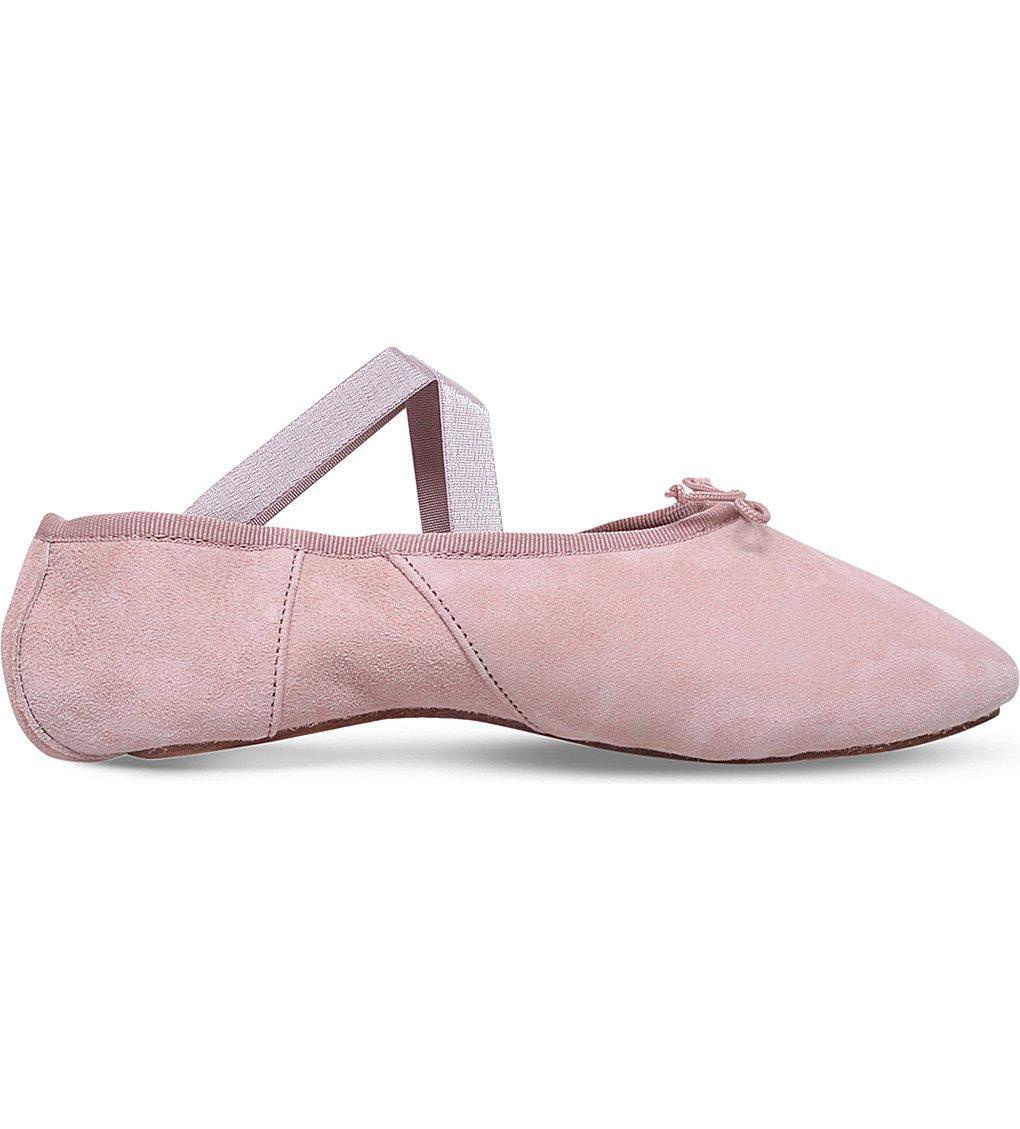 OPERA NATIONAL DE PARIS Solis Suede Ballet Flats