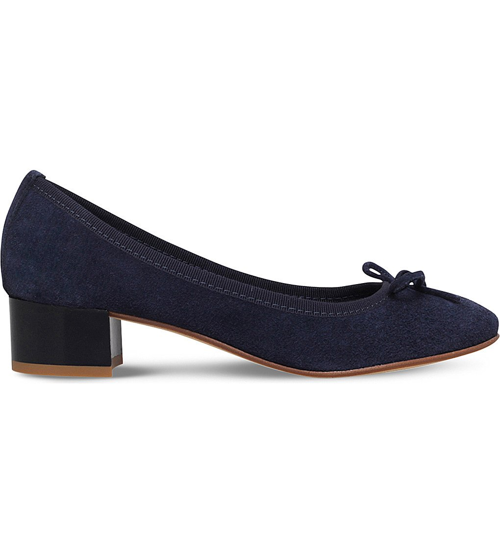 NINE WEST Saray Suede Courts