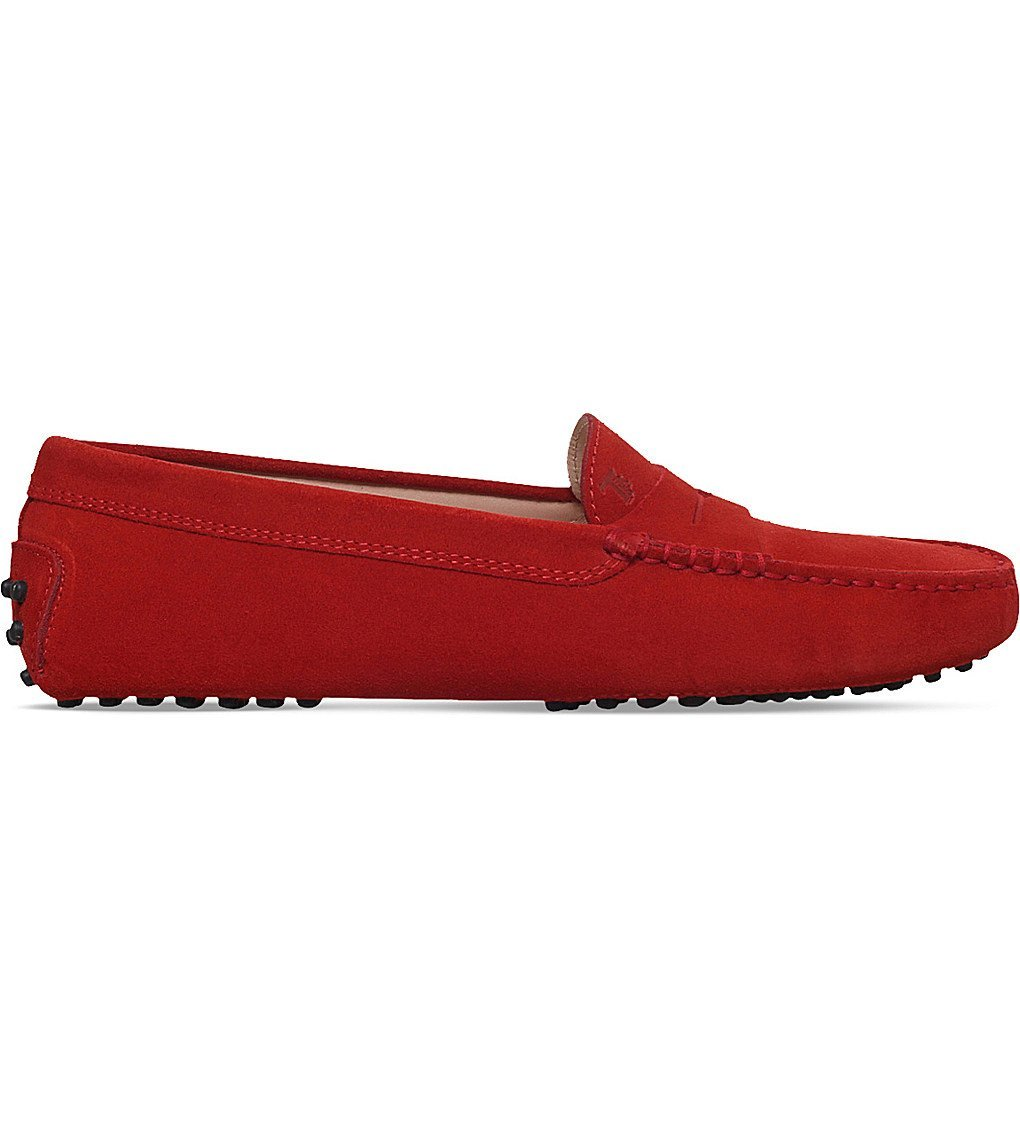 TODS Gommino Suede Driving Shoes
