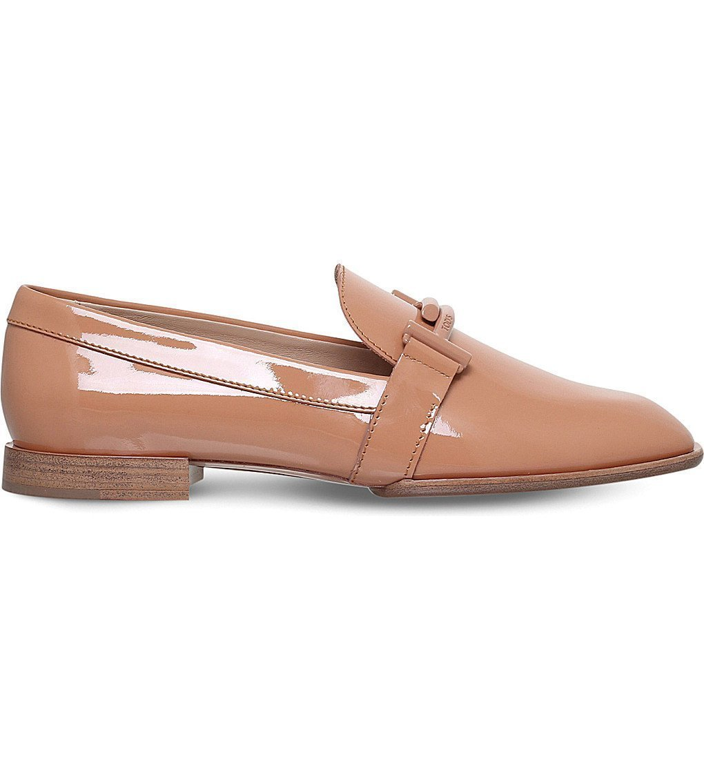 TODS Cudio Patent Leather Loafers