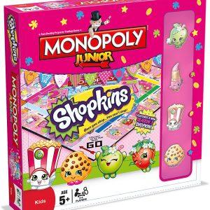 SHOPKINS Shopkins Monopoly Junior Game