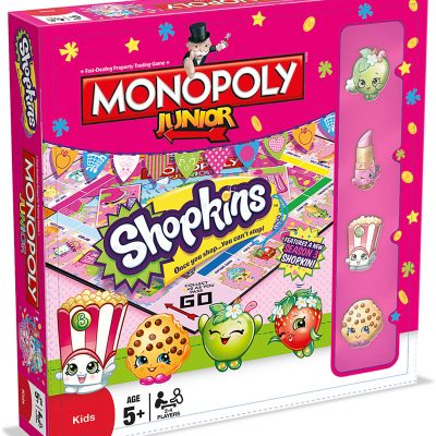 SHOPKINS Shopkins Monopoly Junior Game