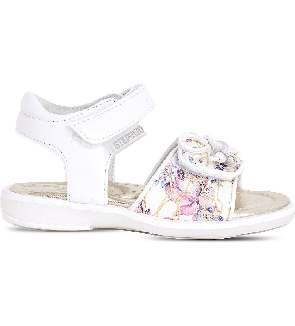 STEP2WO Sandy Floral-print Sandals 3-7 Years