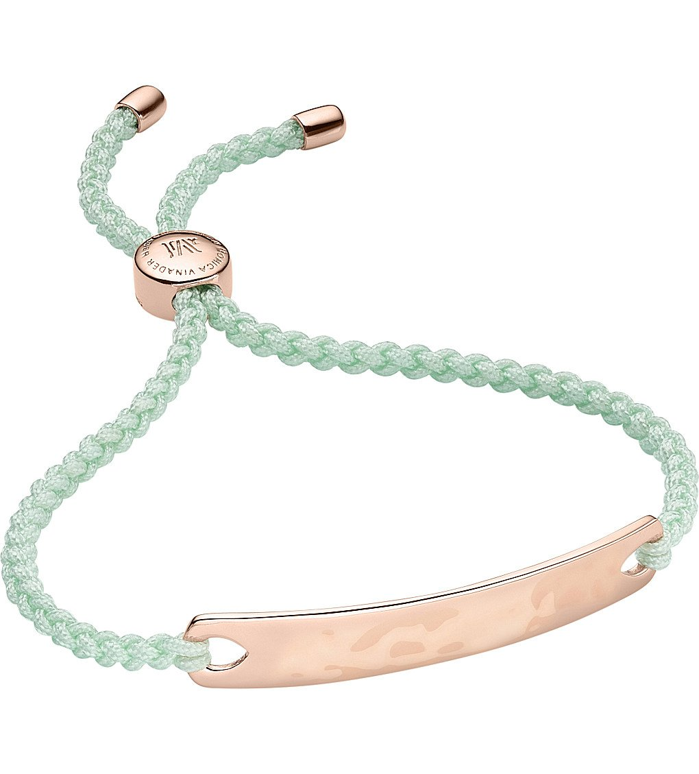 MONICA VINADER Havana 18ct Rose Gold-plated Friendship Bracelet