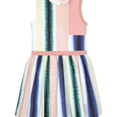 NO ADDED SUGAR Paint Stripe Cotton Dress 4-12 Years