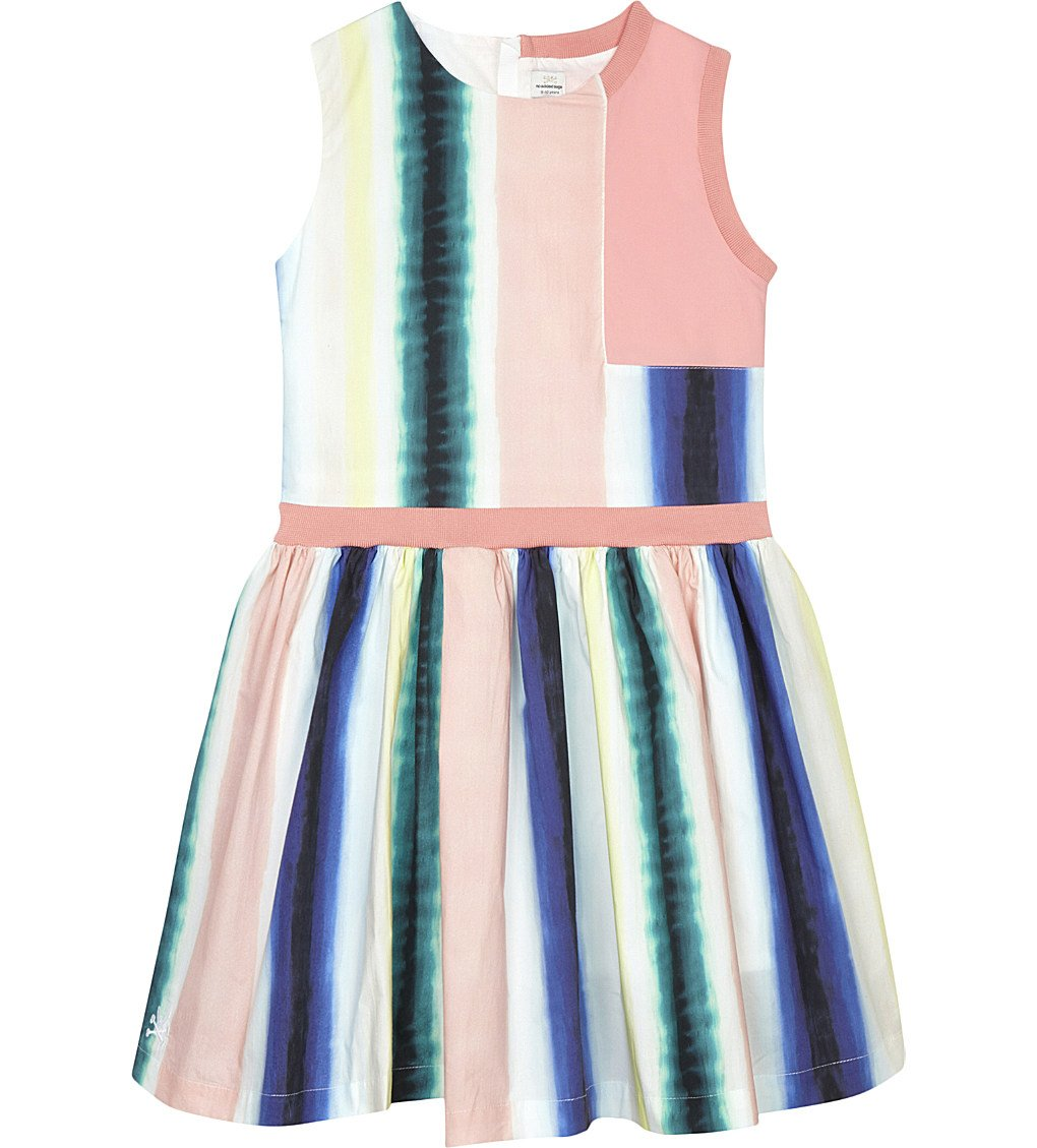 NO ADDED SUGAR Paint Stripe Cotton Dress 4-12 Years
