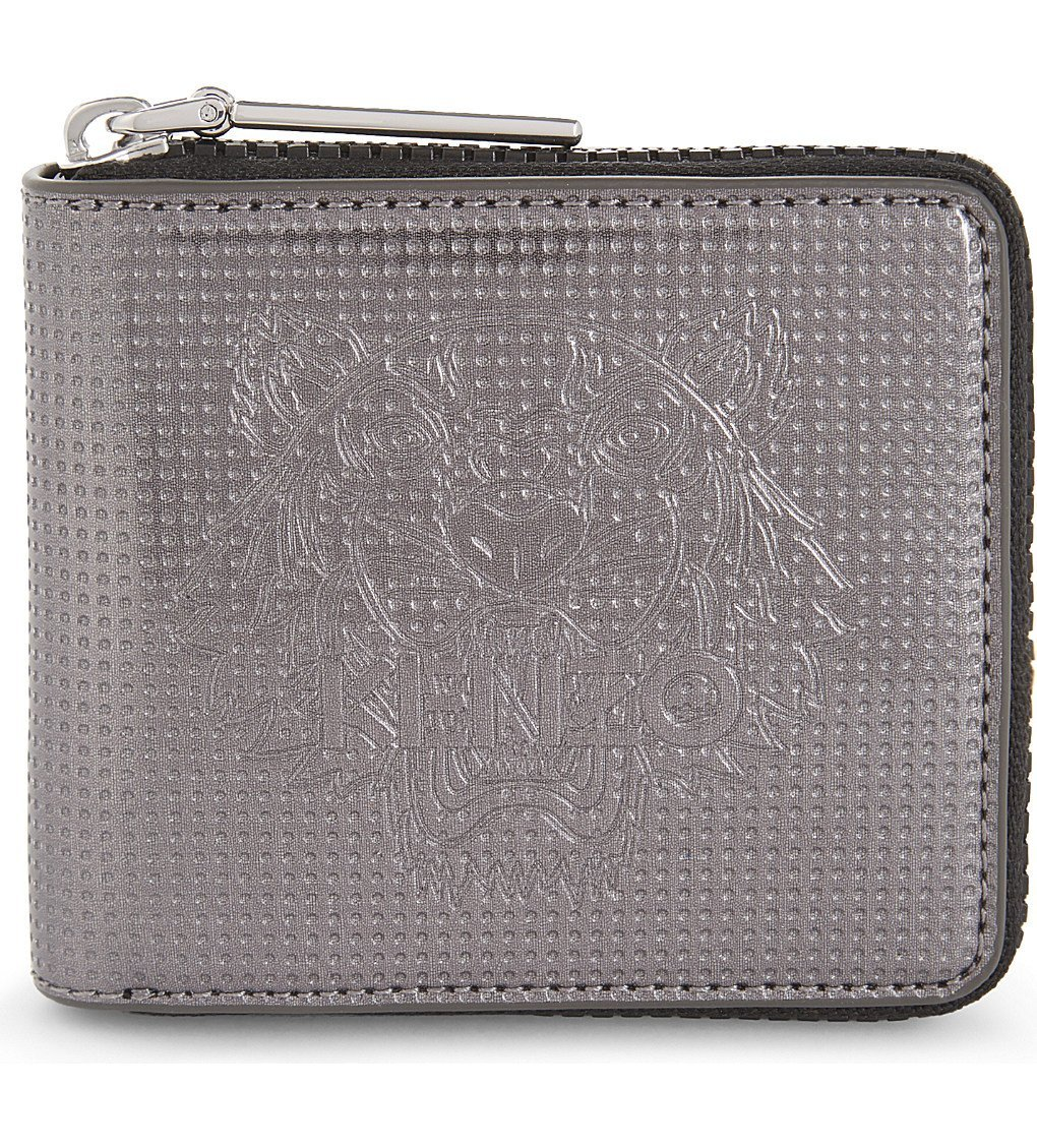 KENZO Tiger Small Zip-around Wallet