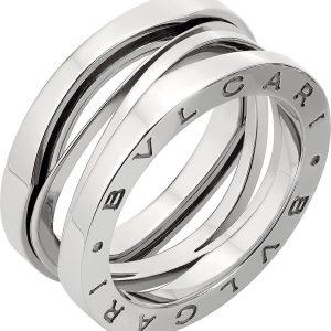 BVLGARI B.zero1 Zaha Hadid Four Band 18ct White-gold Ring