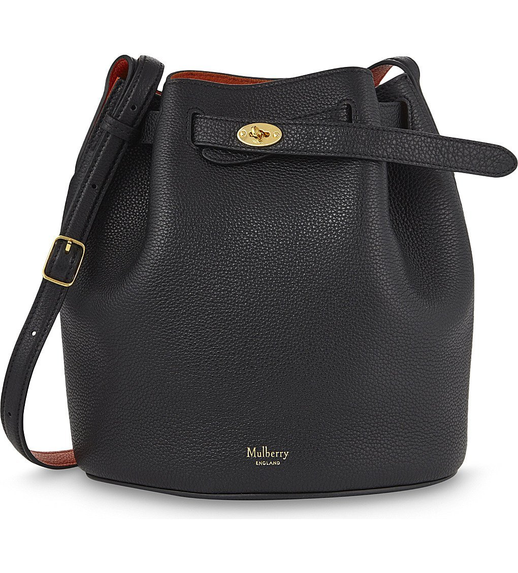MULBERRY Abbey Leather Bucket Bag
