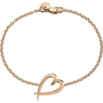 SHAUN LEANE Signature Rose-gold Vermeil Heart Bracelet