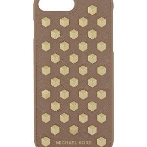 MICHAEL MICHAEL KORS Studded Saffiano Leather IPhone 7 Plus Case