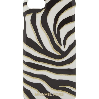 MICHAEL MICHAEL KORS Zebra Print Plastic IPhone 7 Case