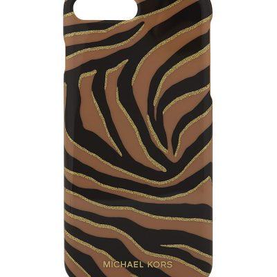 MICHAEL MICHAEL KORS Zebra Print Plastic IPhone 7 Plus Case