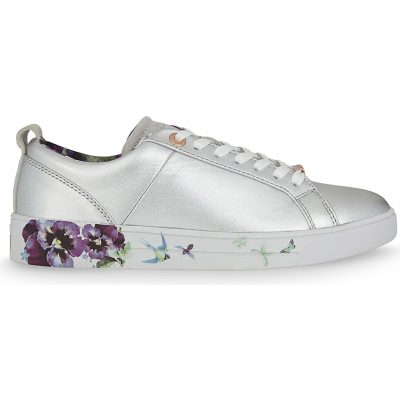 TED BAKER Barrica Leather Lace-up Trainers