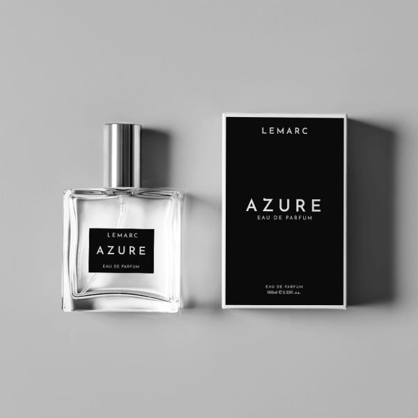 Lemarc azure bottle box