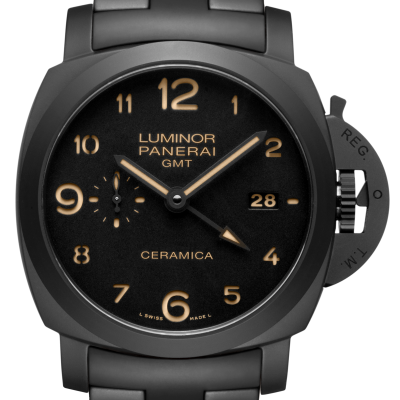 Tuttonero Luminor GMT – 44mm