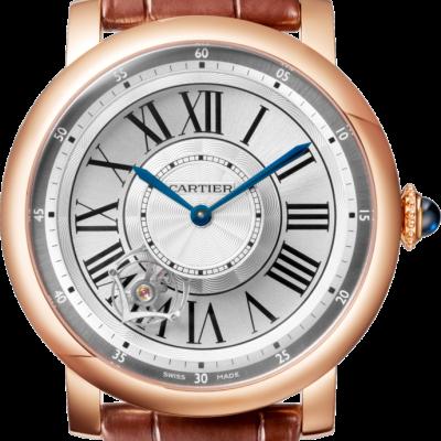 Relógio Rotonde De Cartier Astroturbilhão